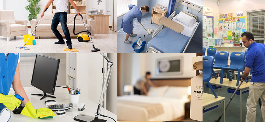 Residential & Commercial housekeeping services in gurgaon